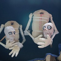 Plucked puppets